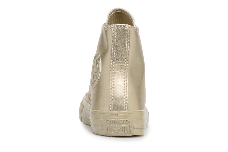 Sneaker Converse Chuck Taylor All Star Metallic gold/bronze ansicht von rechts