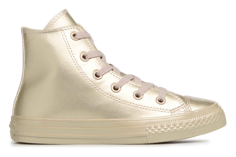 Sneaker Converse Chuck Taylor All Star Metallic gold/bronze ansicht von hinten