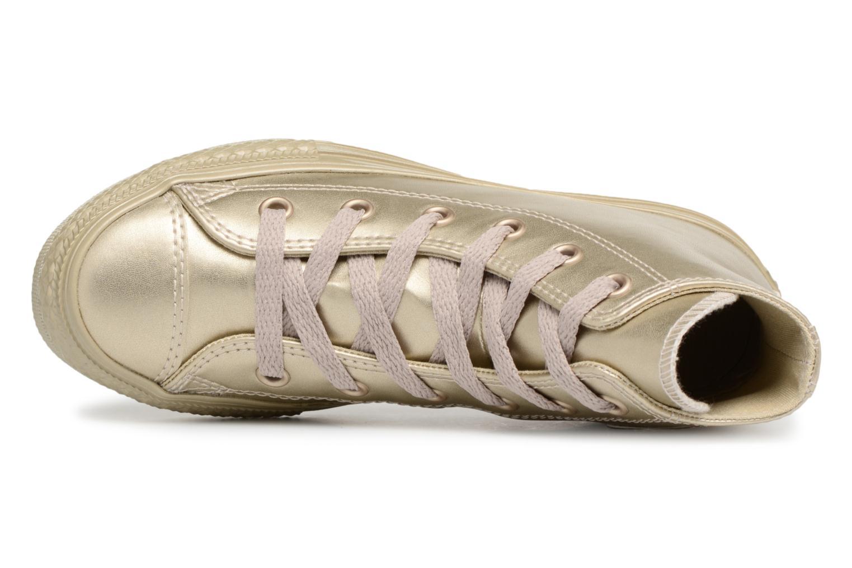 Sneaker Converse Chuck Taylor All Star Metallic gold/bronze ansicht von links