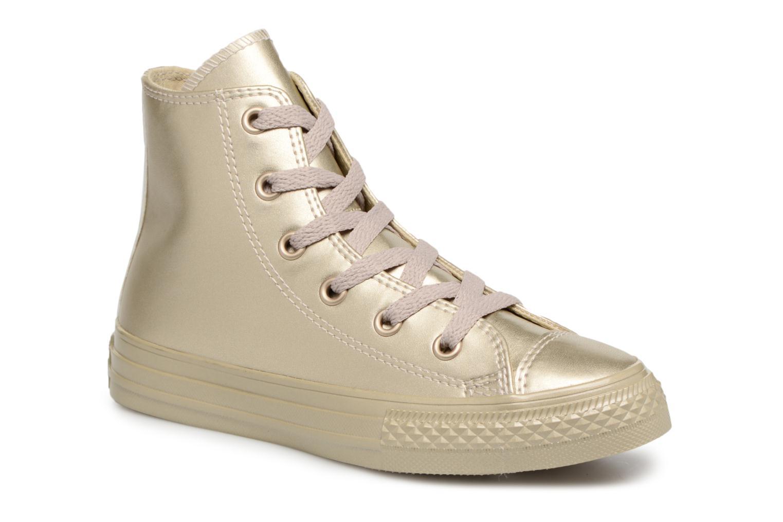 Baskets Converse Chuck Taylor All Star Metallic Or et bronze vue détail/paire