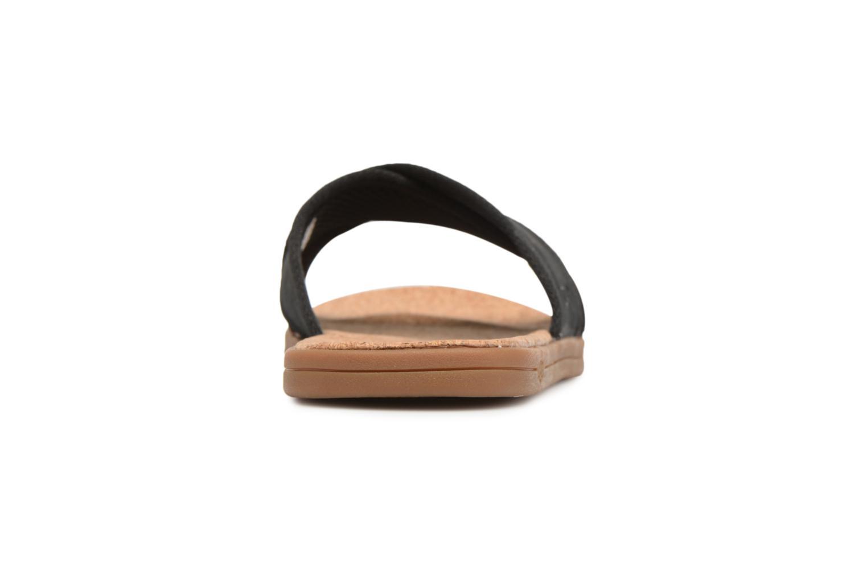 Sandales et nu-pieds UGG Seaside Slide Noir vue droite