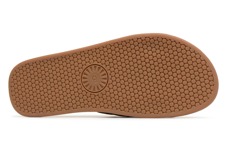 Sandales et nu-pieds UGG Seaside Slide Noir vue haut