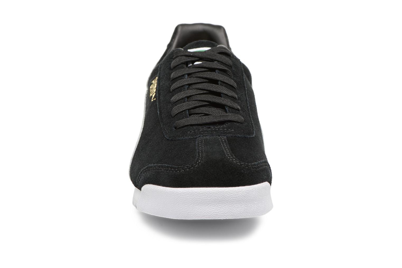 Baskets Puma Roma Suede Noir vue portées chaussures