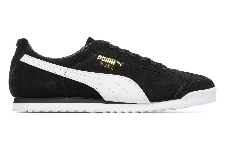 Roma Suede Puma Black-Puma White-Puma Team Gold-