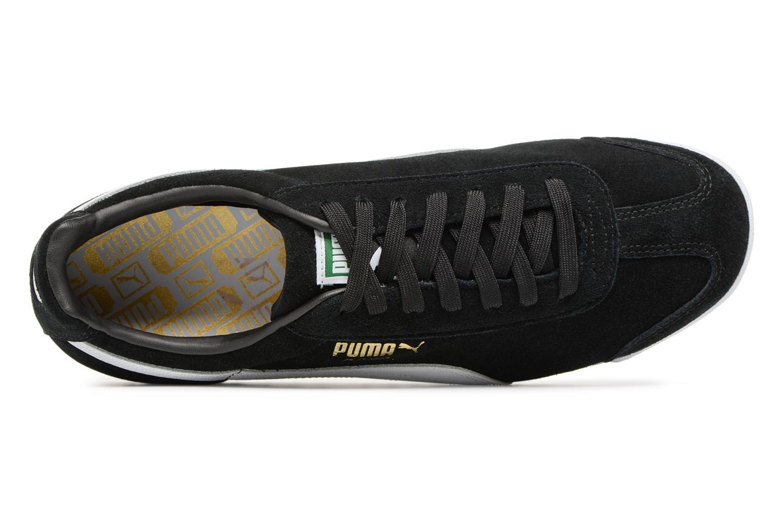 Baskets Puma Roma Suede Noir vue gauche