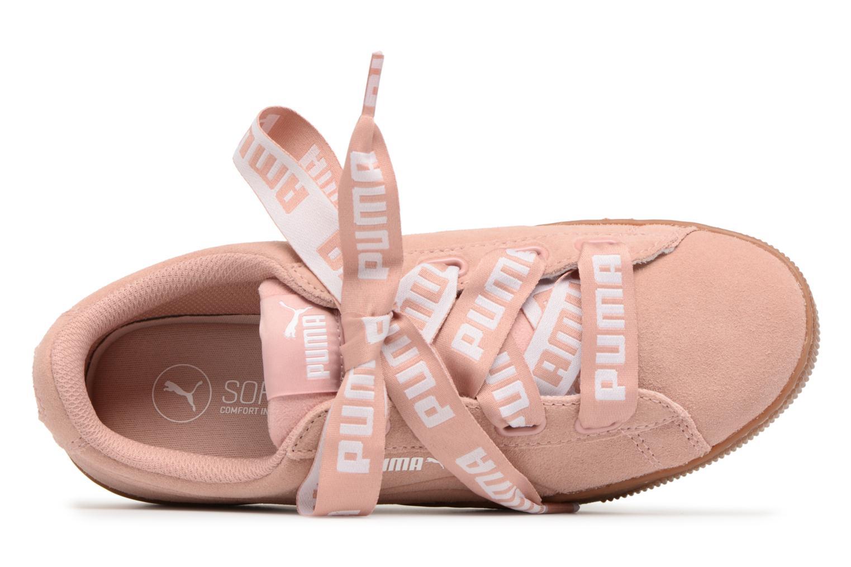 Puma Vikky Platform Ribbon Bold Peach Beige-Peach Beige