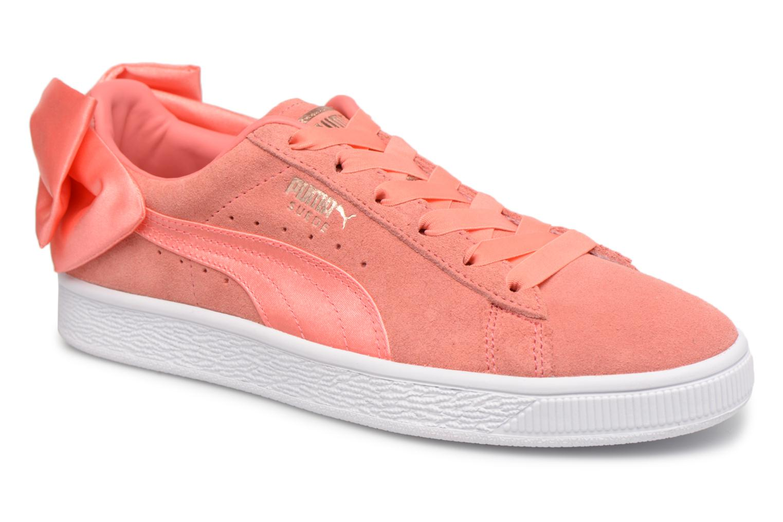 Puma Suede Shell Bow Pink Wn's YUpqq1anw7