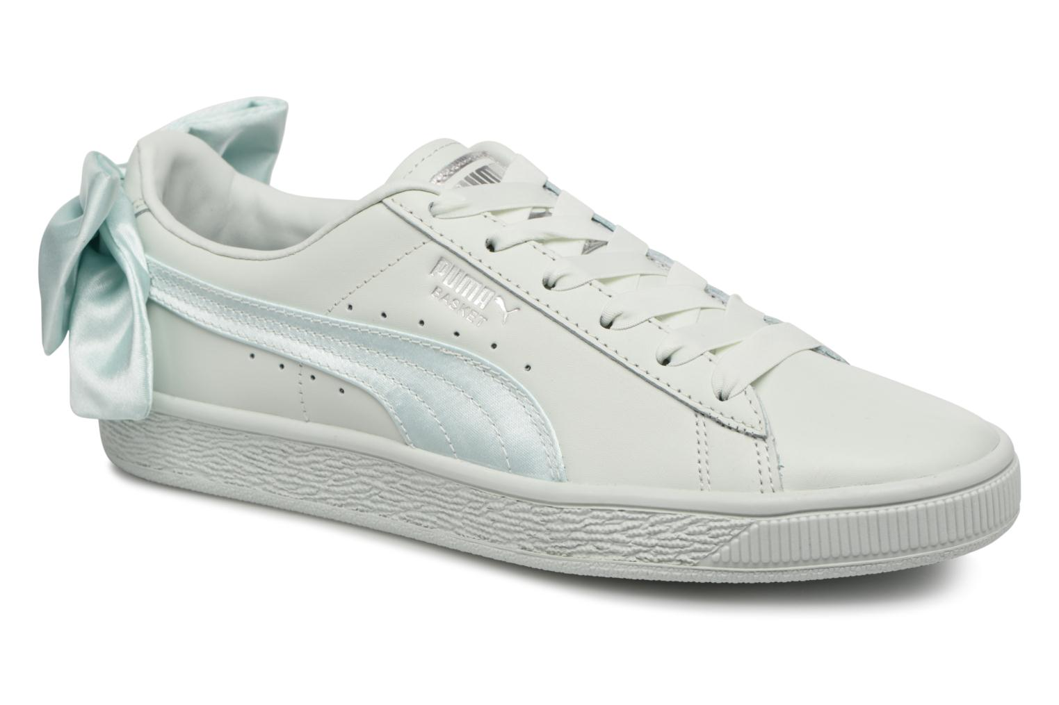 Puma Basket Bow Wn's (Bleu) - Baskets chez Sarenza (325046)