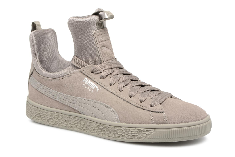 Zapatos promocionales Puma Suede Fierce Wn's (Gris) - Deportivas   Gran descuento