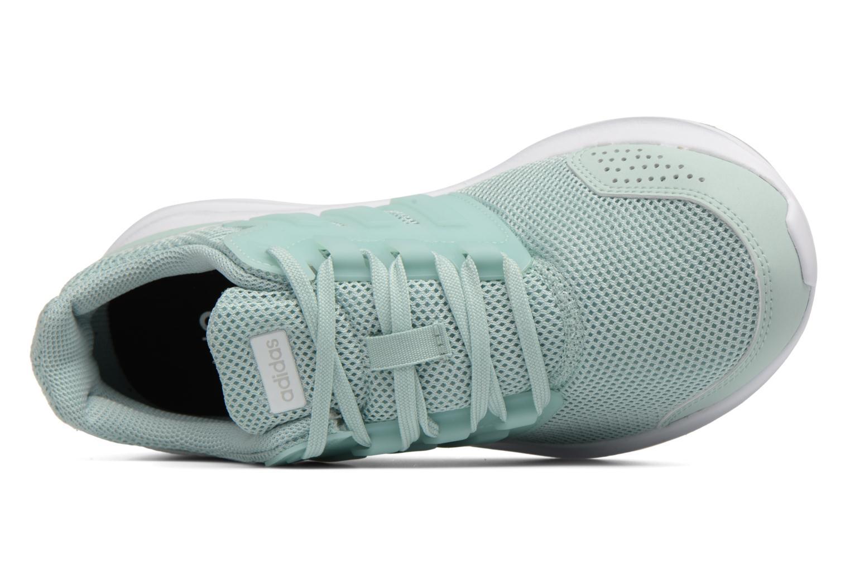 Chaussures de sport Adidas Performance Galaxy 4 Bleu vue gauche