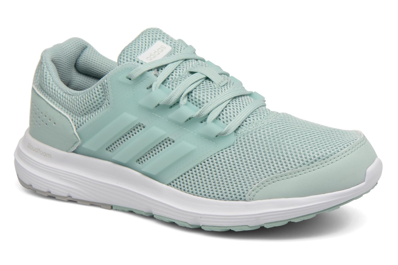 Chaussures de sport Adidas Performance Galaxy 4 Bleu vue détail/paire
