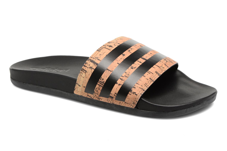 Adidas Performance Adilette Cf+ Cork (Marron) - Sandales et nu-pieds chez Sarenza (325196)