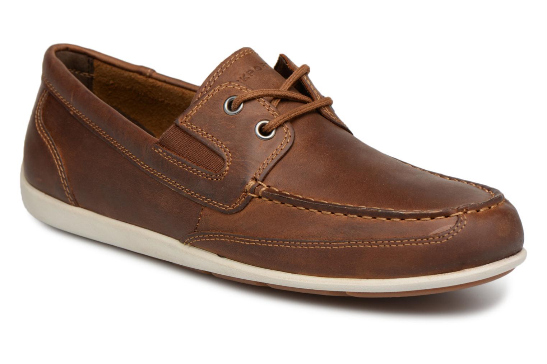 Chaussure Bateau Bl4 - Chaussures À Lacets Pour Les Hommes / Rockport Brun NPTIgnH