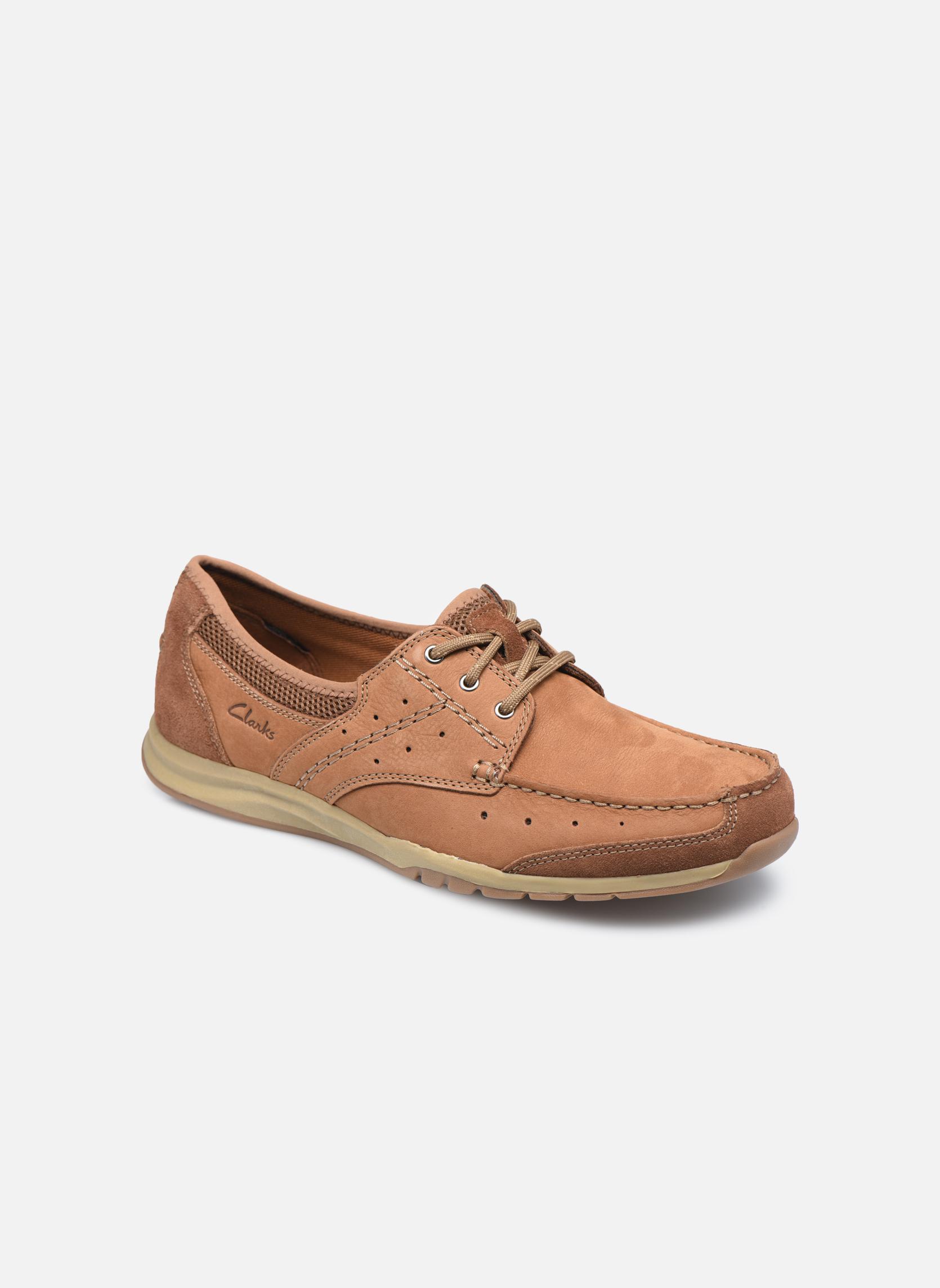 Clarks Ramada English (Marron) - Chaussures à lacets chez Sarenza (325468)