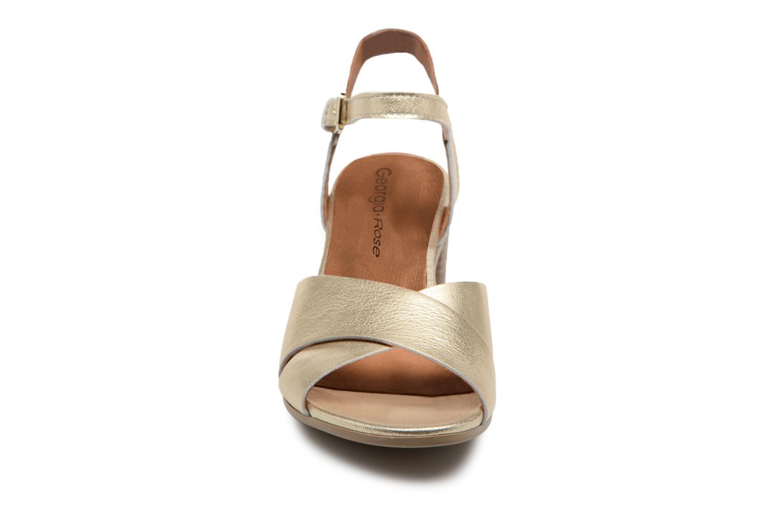 Sandales et nu-pieds Georgia Rose Semoria soft Or et bronze vue portées chaussures
