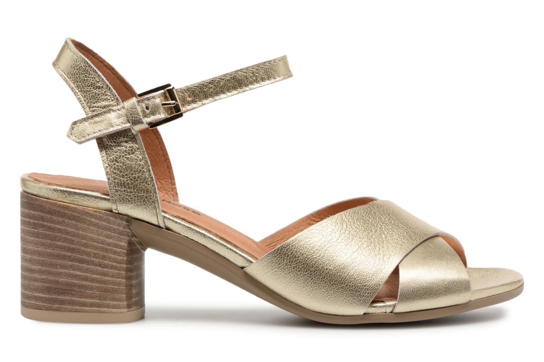 Sandals Georgia Rose Semoria soft Bronze and Gold back view