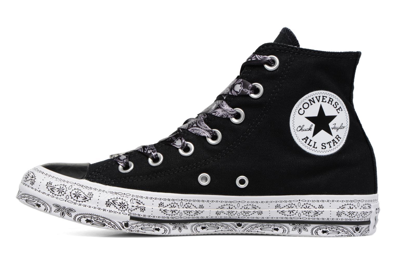 Baskets Converse Converse x Miley Cyrus Chuck Taylor All Star Hi Noir vue face