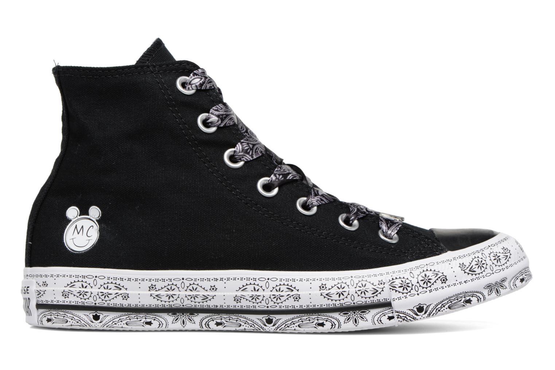 Baskets Converse Converse x Miley Cyrus Chuck Taylor All Star Hi Noir vue derrière