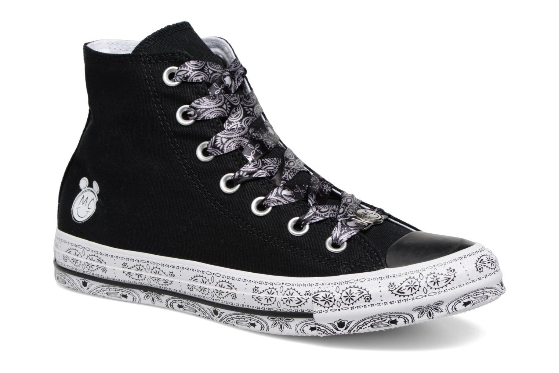 Zapatos promocionales Converse Converse x Miley Cyrus Chuck Taylor All Star Hi (Negro) - Deportivas   Gran descuento