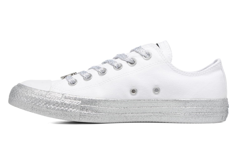 Baskets Converse Converse x Miley Cyrus Chuck Taylor All Star Ox Blanc vue face