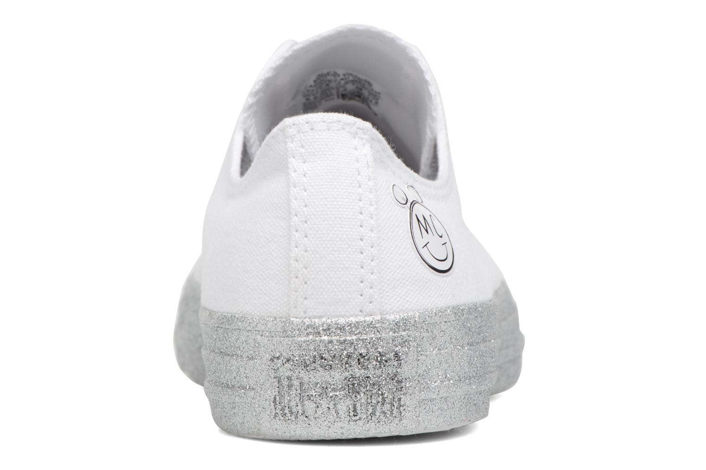 Baskets Converse Converse x Miley Cyrus Chuck Taylor All Star Ox Blanc vue droite