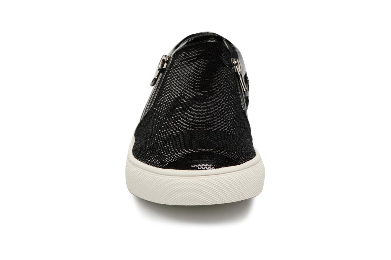 Baskets Steve Madden Paddock Slip-on Noir vue portées chaussures