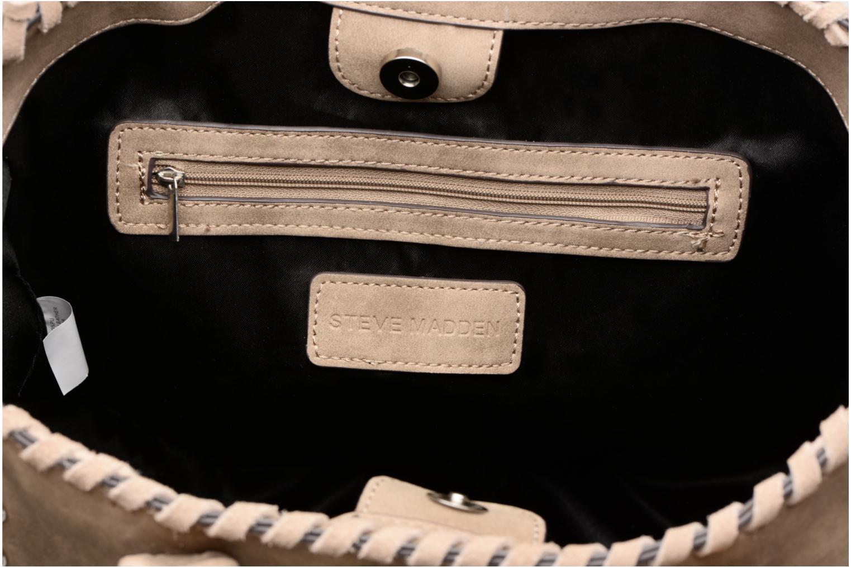 Handtaschen Steve Madden Bleeann beige ansicht von links