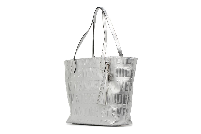 Handtaschen Steve Madden Brepeat silber schuhe getragen