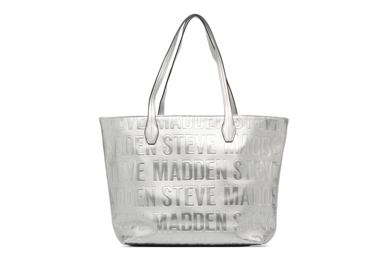 Handtaschen Steve Madden Brepeat silber ansicht von vorne