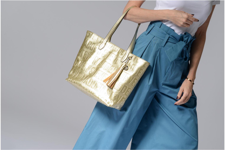 Handtaschen Steve Madden Brepeat silber ansicht von oben