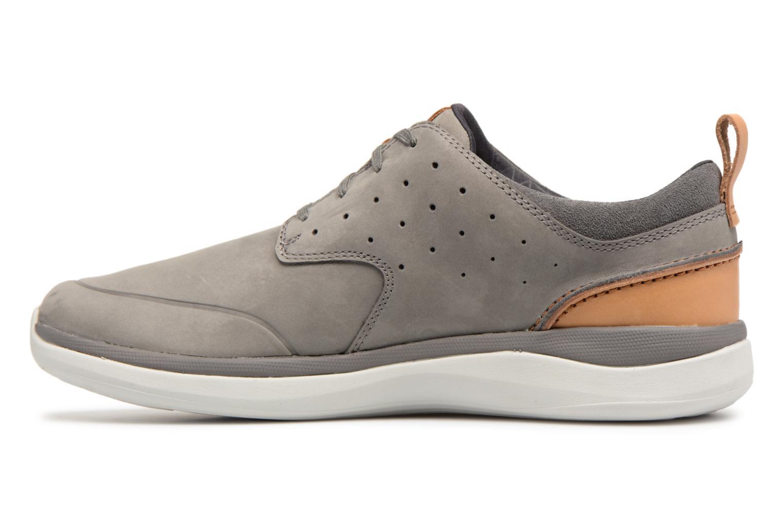 Sneakers Clarks Garratt Lace Grijs voorkant