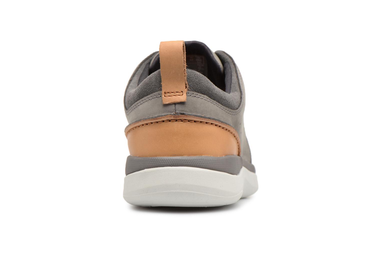 Sneakers Clarks Garratt Lace Grijs rechts