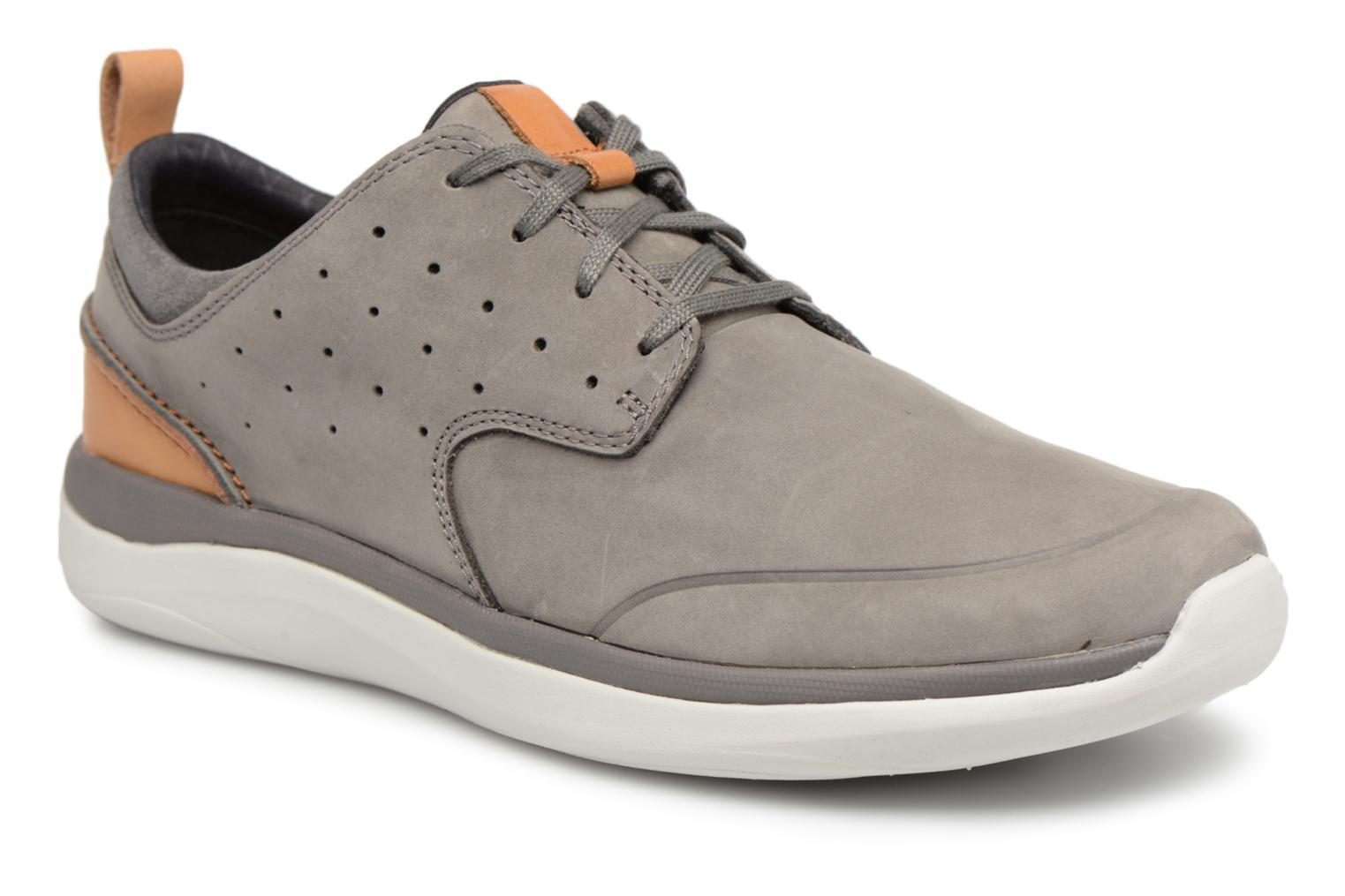 Sneakers Clarks Garratt Lace Grijs detail