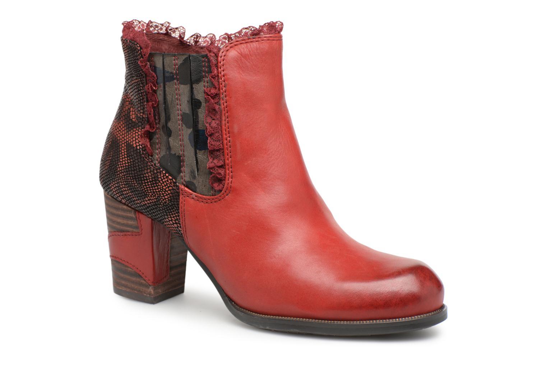 Grandes descuentos últimos zapatos Laura Vita ANNA 01 (Rojo) - Botines  Descuento