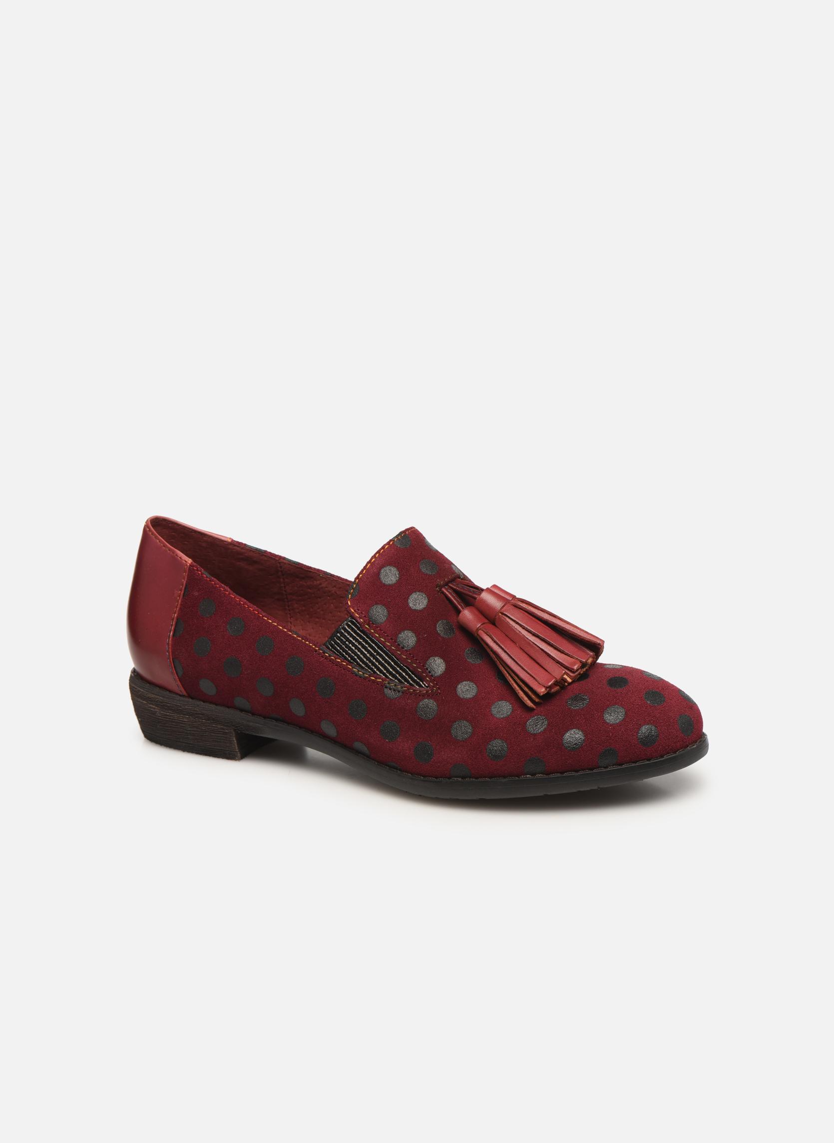Zapatos promocionales Laura Vita CLAUDIE 05 (Rojo) - Mocasines   Los últimos zapatos de descuento para hombres y mujeres