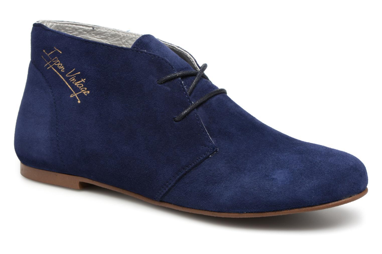 Ippon Vintage HYP-CASUAL (Bleu) - Chaussures à lacets chez Sarenza (326212)