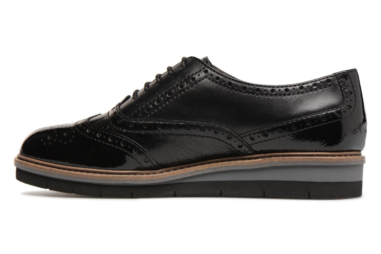 Chaussures à lacets Tamaris 23397 Noir vue face