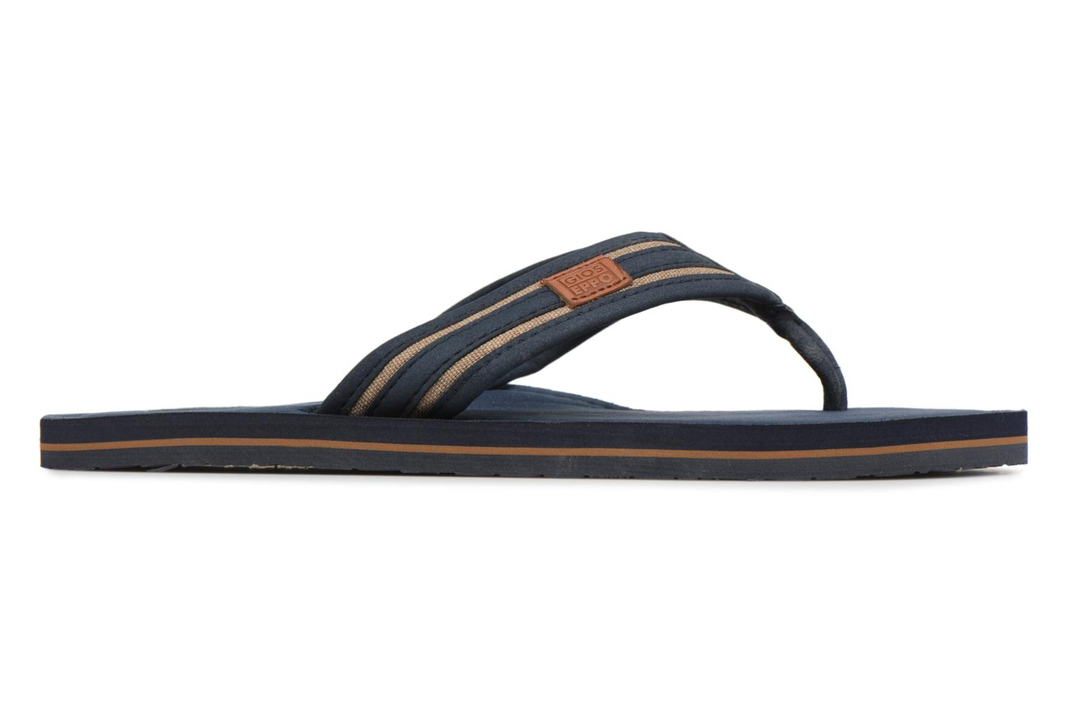 Flip flops Gioseppo PAPAYA Blue back view