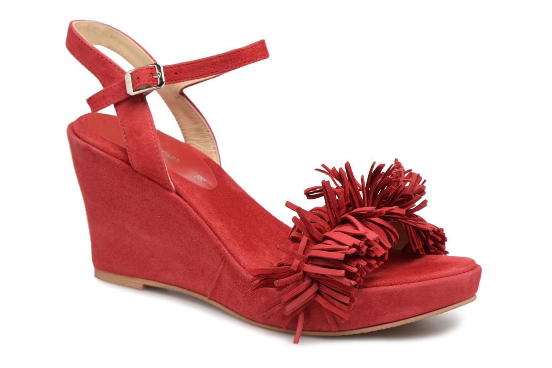 Grandes descuentos últimos zapatos Elizabeth Stuart Jany 606 (Rojo) - Sandalias Descuento