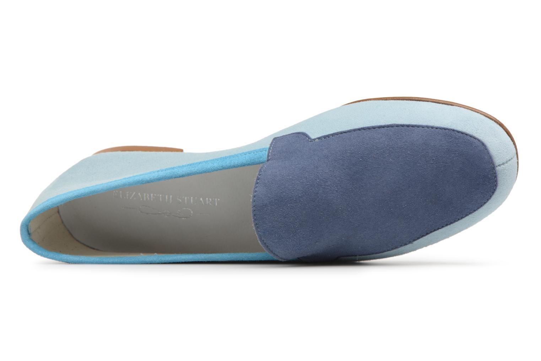 Mocassins Elizabeth Stuart Namo 300/3 Bleu vue gauche