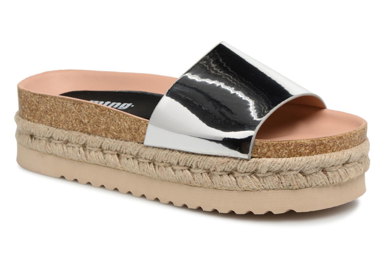 Grandes descuentos últimos zapatos MTNG 50722 (Plateado) - Zuecos Descuento