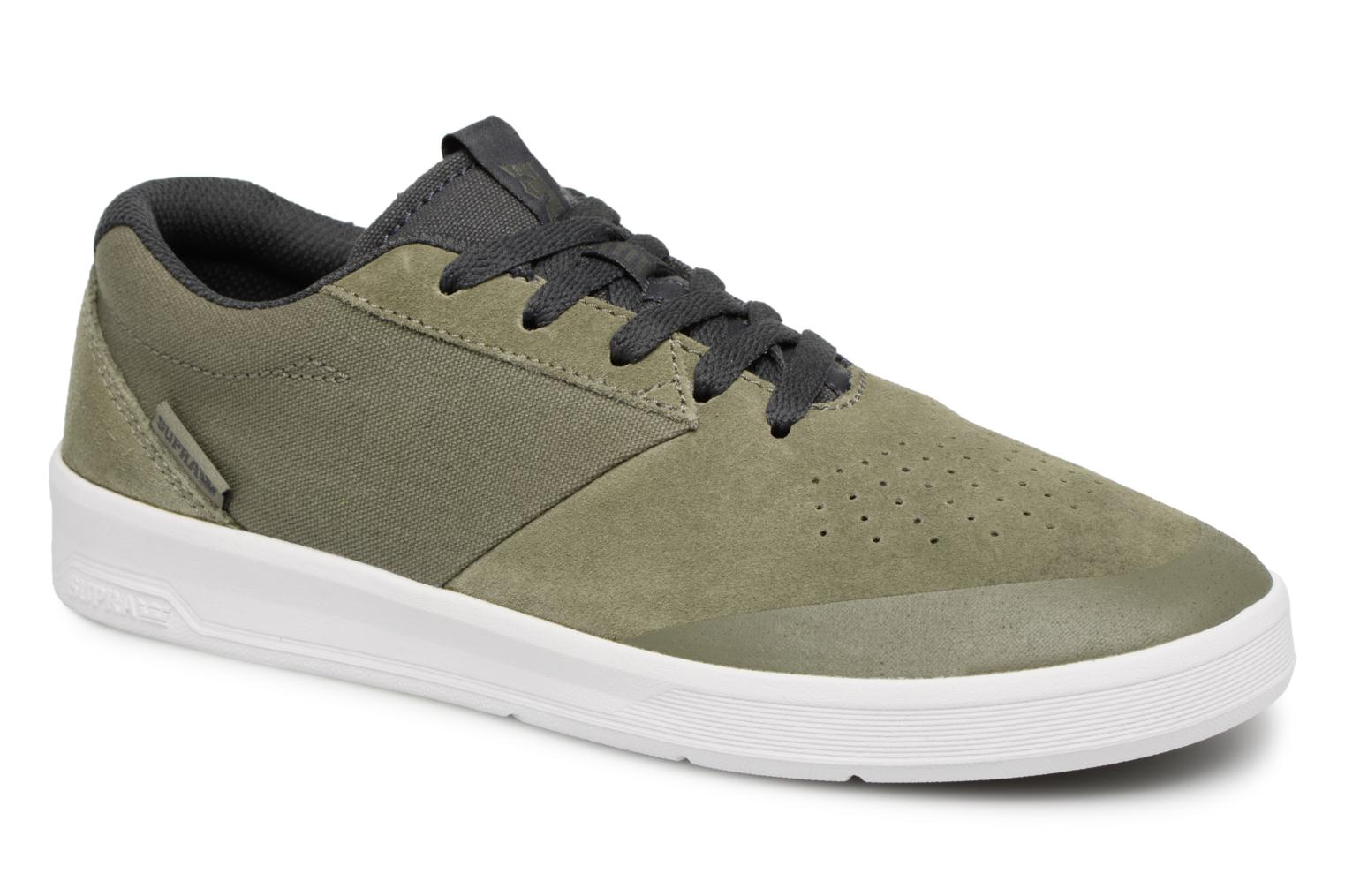 Marques Chaussure homme Supra homme SHIFTER OLIVE / GREY - WHITE-M