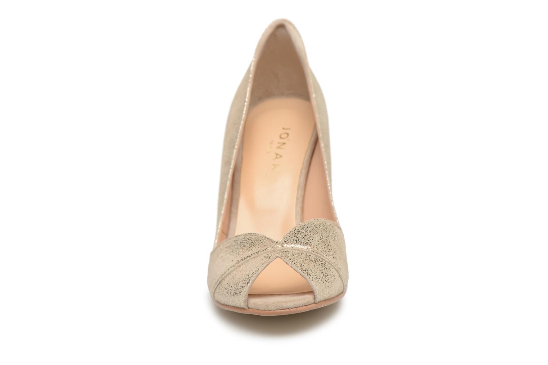 Escarpins Jonak DORINE 2 Or et bronze vue portées chaussures