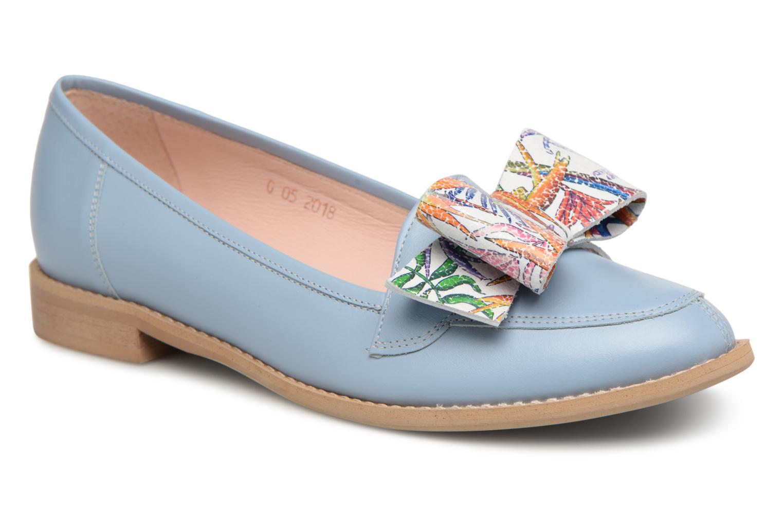 Grandes descuentos últimos zapatos L37 Loft Moccasins Bow (Azul) - Mocasines Descuento