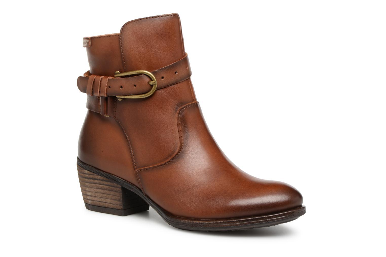 Grandes descuentos últimos zapatos Pikolinos Baqueira W9M-8563 (Marrón) - Botines  Descuento