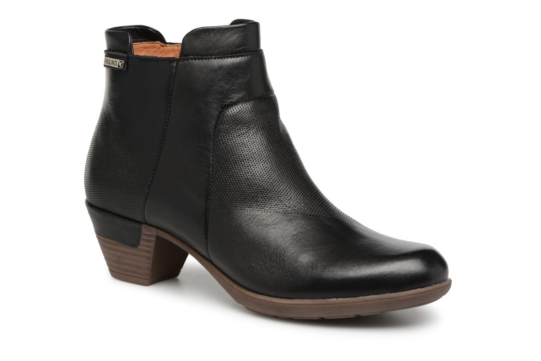 Grandes descuentos últimos zapatos Pikolinos Rotterdam 902-8735 (Negro) - Botines  Descuento