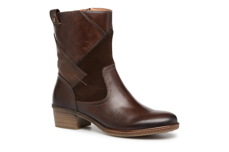 Grandes descuentos últimos zapatos Pikolinos Zaragoza W9H-8705 (Marrón) - Botas Descuento