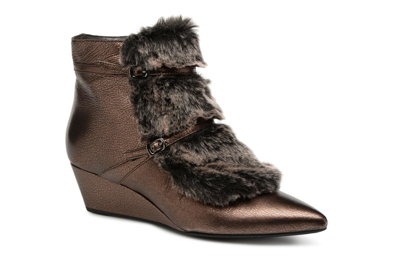 Zapatos de mujer baratos zapatos de mujer Geox D JAUNIE D641RA (Marrón) - Botines  en Más cómodo