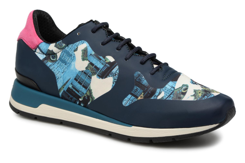 Grandes descuentos últimos zapatos Geox D SHAHIRA B D64N1B (Azul) - Deportivas Descuento