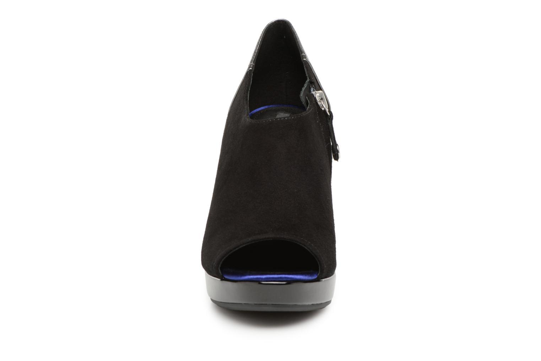 Bottines et boots Geox D MAUVELLE D724LB Noir vue portées chaussures